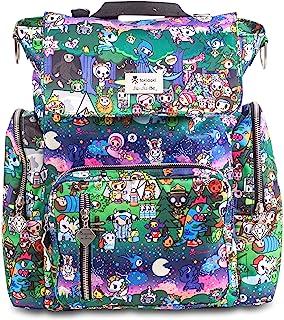 JuJuBe x Tokidoki Diaper Backpack + Messenger Bag, Be Sporty | Multi-Functional, Lightweight, Durable + Travel Friendly | ...