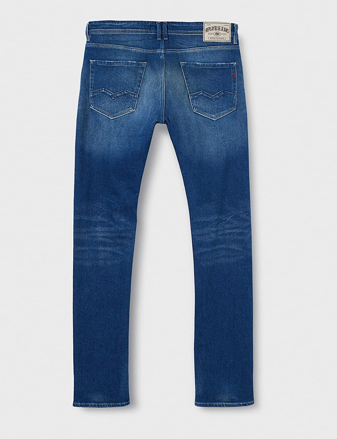 Replay Men's Rocco Tapered Fit Jeans Blue (Medium Blue 9)