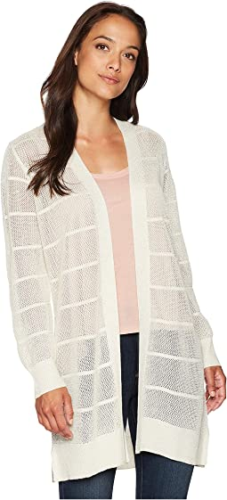 Long Sleeve Lurex Cardigan