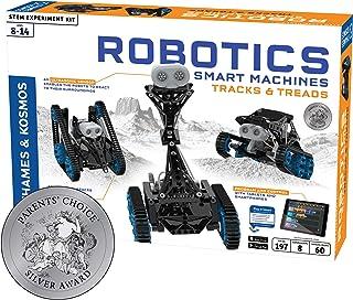Thames & Kosmos | Robotics Smart Machines: Tracks & Treads | for Kids 8+ | STEM Kit Builds 8 Robots | Color Manual to Help...
