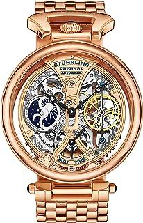 ساعة رسمية للرجال من ستوهرلنج - ستانلس ستيل، ذهبي روز، 797.03