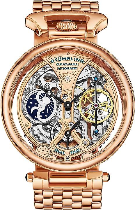Orologio uomo stuhrling - orologio da polso color oro 797.03