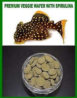 SPIRULINA VEGGIE WAFER,***SPECIAL***Algae Wafers,Pleco,Catfish,Guppies,Mollies - 16oz Bag - 1 lb.