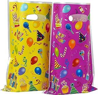 Plastic Party Favor Bags Assorted Colors 48 pcs (Balloon)