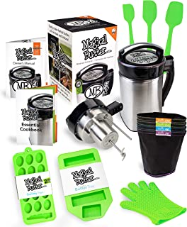 Magical Butter MB2E Botanical Extractor Machine Complete Kit With Magical Butter Official 7 page Cookbook and Silicone Accessories
