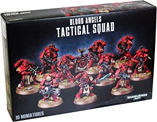 Warhammer Games Workshop 40,000 Blood Angels Tactical Squad GWS 41-12