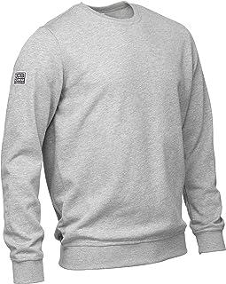 JCB - JCB Workwear - Jersey de Trabajo para Hombre - Sudadera básica Marl - Sudadera Gris - Talla XXL