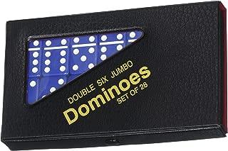 Double 6 Jumbo Dominoes - Blue