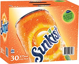 Sunkist Orange Soft Drink, 30 x 375ml