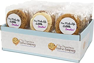 The Providence Cookie Company YOU MAKE LIFE SWEETER GOURMET COOKIE GIFT choose 1, 2, 3 or 4 Dozen (2 Dozen)