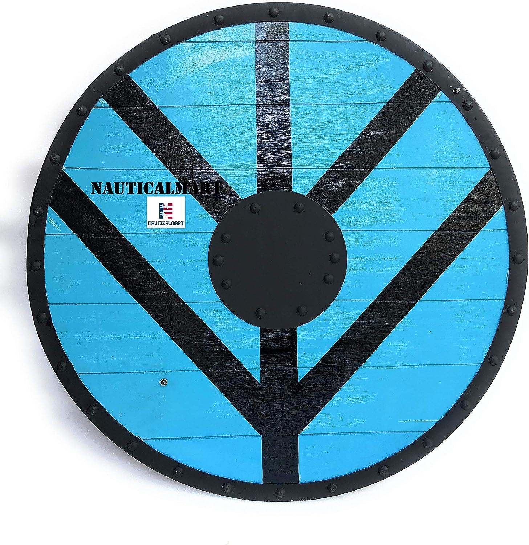 Nautical-Mart LARP Renaissance Armor Viking Our shop OFFers the OFFicial best service Lagertha Shield