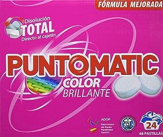 Puntomatic Detergente en Pastilla Ropa Color, 24 Lavados -