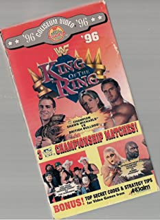 WWF: King of the Ring 1996 VHS