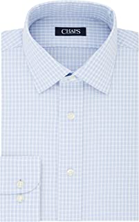 Men's Dress Shirt Slim Fit Comfort Stretch Check