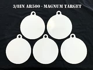 Steel Shooting Targets 8 Inch Dia. AR500 Steel Gong Targets Metal Targets-5pc