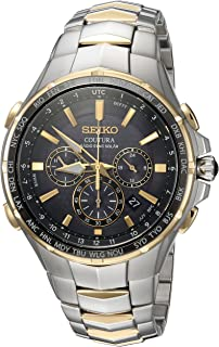 Seiko Men's SSG010 COUTURA Analog Display Japanese Quartz Two Tone Watch