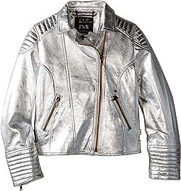 Luxe Leather Jacket (Little Kids/Big Kids)