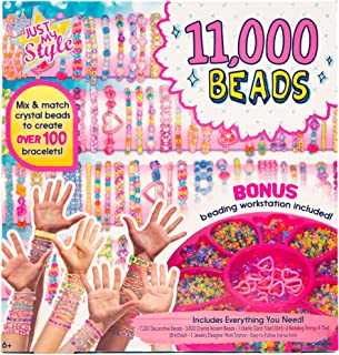 Just My Style 11, 000 Beads Bracelet Making Kit by Horizon Group USA
