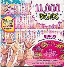Just My Style 11, 000 Beads Bracelet Making Kit by Horizon Group USA