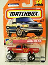 1999 Matchbox To The Beach Ford F-150 4x4 Beach Patrol #14 of 100