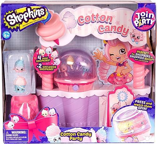 Shopkins 56459 ason 7 tton Candy Spielset, MultiFarbe