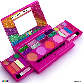 Kids Makeup Palette For Girl – Real Washable Kids Makeup - My First Princess Make Up Set Include 4 Blushes, 8 Eyeshadows, ...