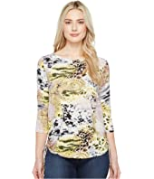 FDJ French Dressing Jeans - Chameleon Print Top