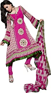 COTTON JACQUARD SUIT WITH DUPPATTA - 6312B