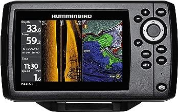 Humminbird 410230-1 Helix 5 Fish Finder (Chirp, SI, GPS, G2) (Renewed)