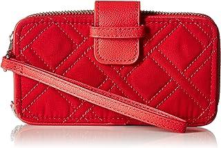 Vera Bradley RFID Smartphone Wristlet, Cardinal red