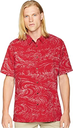 Wind and Waves Short Sleeve Woven Shirt