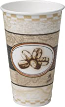 Dixie PerfecTouch 16 oz. Insulated Paper Hot Coffee Cup by GP PRO (Georgia-Pacific), Beans Design,  5356BE, 1,000 Count (50 Cups Per Sleeve, 20 Sleeves Per Case)
