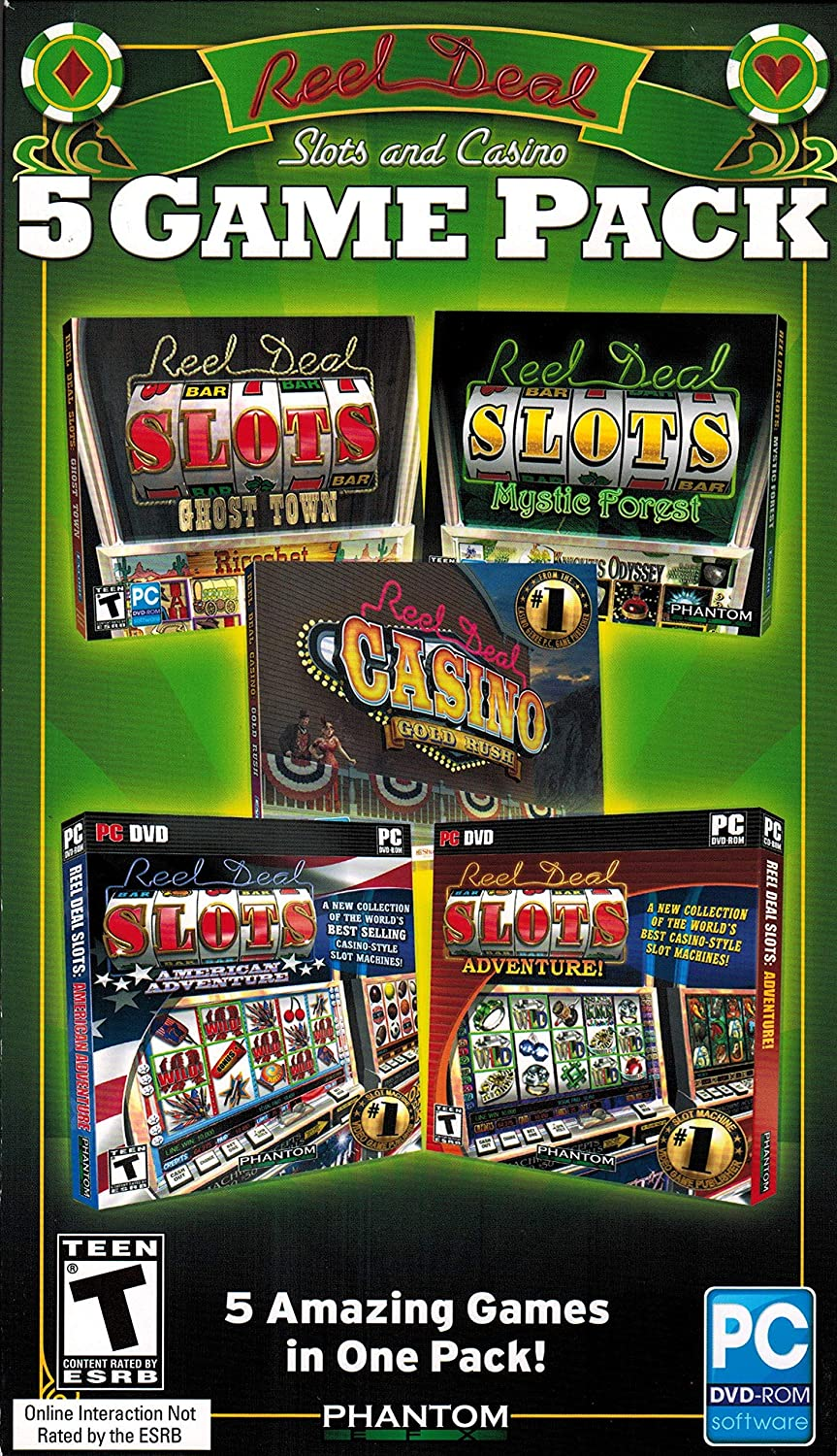Reel Deal Slots and Luxury goods Casino NEW Pack Game 5