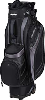 BAGBOY Unisex's Transit Cart Bag Black/Charcoal/Silver, ONE Size