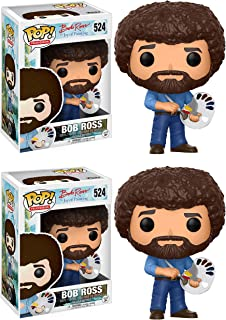 Funko Television: POP! Bob Ross 2 Pack Collectible Set