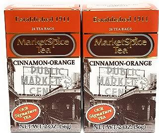 MarketSpice Cinnamon-Orange Tea Bag, 24 count (Pack of 2) Market Spice Teabag