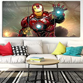 Marvel Iron Man Canvas Posters Home Decor Wall Art Framework 3 Pieces Paintings for Living Room HD Prints Movie Pictures