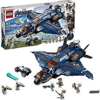 LEGO® Marvel Super Heroes™ Le Quinjet des Avengers Jeu de construction, 8 Ans et Plus, 840 Pièces  76126