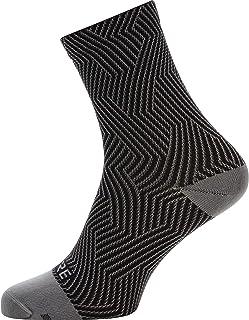 C3 Calcetines para ciclismo unisex, Talla: 35-37, Color: gris/negro