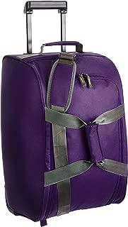Aristocrat Polyester 30 cms Purple Travel Duffle (DFTDRF55PPL)