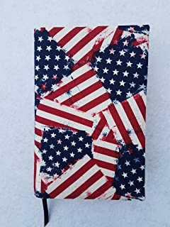 Alcoholics Anonymous Big Book Cover - American Flags