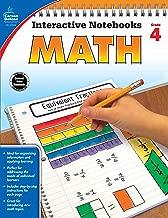 Carson Dellosa Math Interactive Notebook, Grade 4 (Interactive Notebooks)