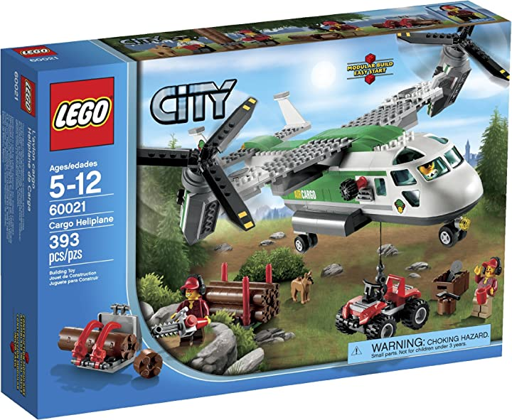 Lego city 60021 cargo heliplane toy building set by lego 6024975