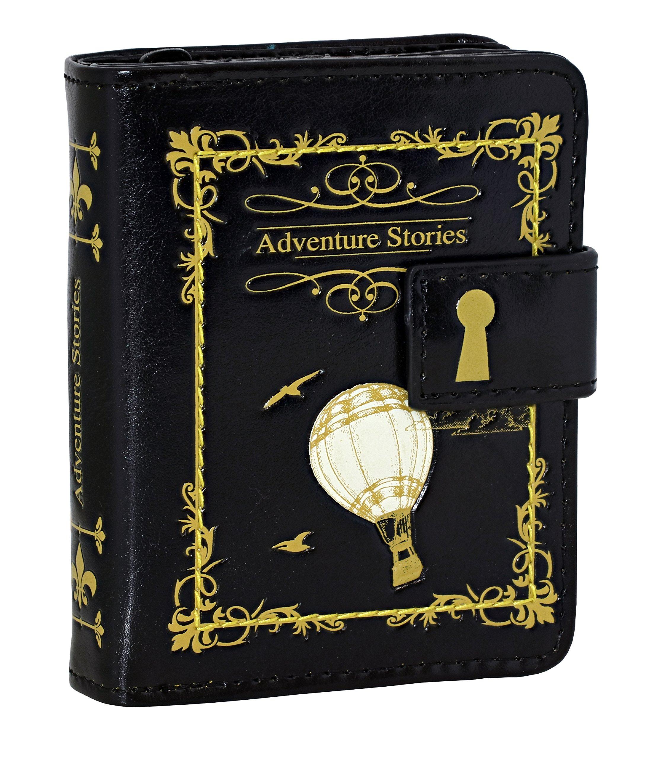 Shagwear Literature Bi Fold Adventure Stories Black