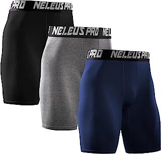 3d5540b8e90192 Neleus Men's Performance Compression Shorts