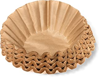 Coffee Filters - Natural Unbleached Brown Biodegradable - Large Basket - 9.75