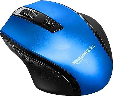 AmazonBasics - Mouse senza fili, ergonomico, con DPI regolabili, Blu - Confronta prezzi