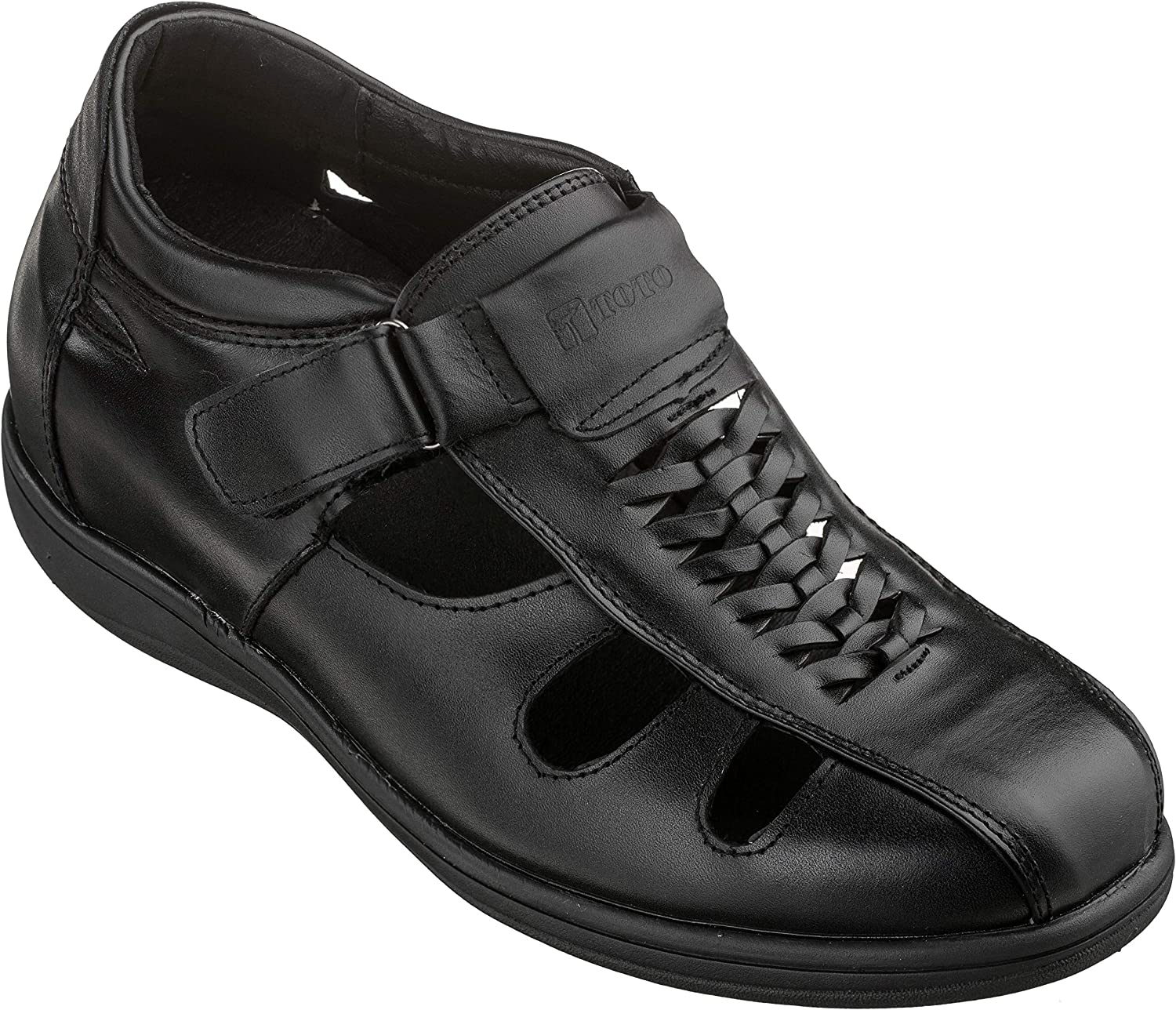 TOTO Men's Invisible Height Increasing Shoes Ranking TOP20 Elevator Leather Trust -