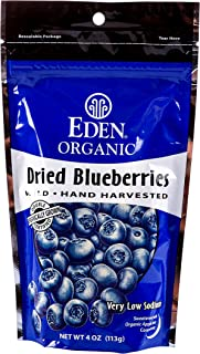 Eden Organic Wild Dried Blueberries, 4 oz