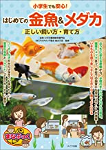 表紙: 小学生でも安心!はじめての金魚&メダカ 正しい飼い方・育て方 まなぶっく   徳永 久志